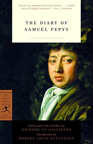 9780812970715: The Diary of Samuel Pepys (Modern Library Classics)