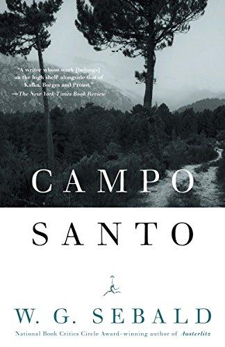 9780812972320: Campo Santo (Modern Library Paperbacks)