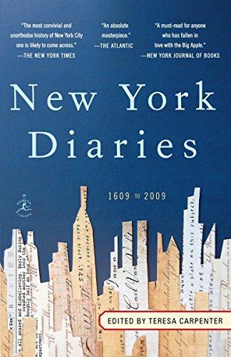 9780812974256: New York Diaries: 1609 to 2009 (Modern Library Paperbacks)