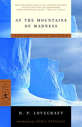 9780812974416: At the Mountains of Madness: The Definitive Edition (Modern Library)
