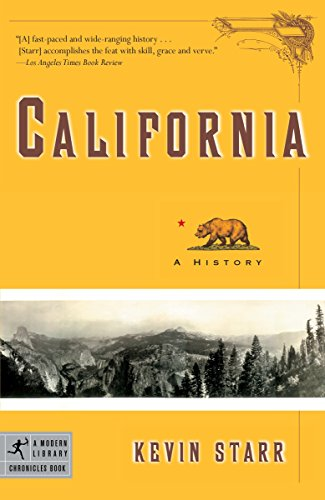 9780812977530: California: A History (Modern Library Chronicles)