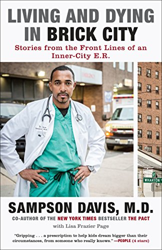 9780812982343: Living and Dying in Brick City: Stories from the Front Lines of an Inner-City E.R.