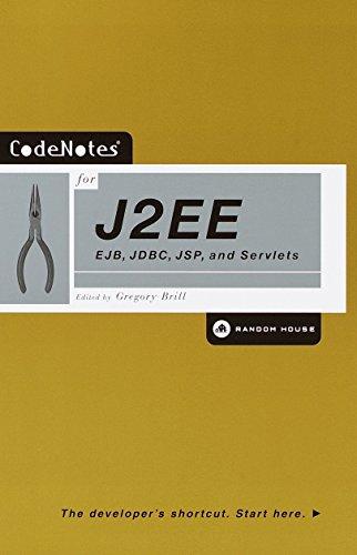 9780812991901: Code Notes for J2Ee: Ejb, Jdbc, Jsp and Servlets