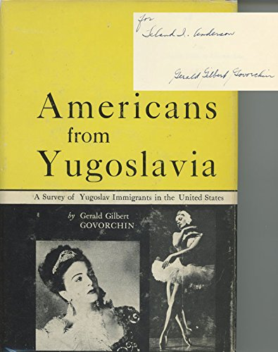 9780813000879: Americans from Yugoslavia