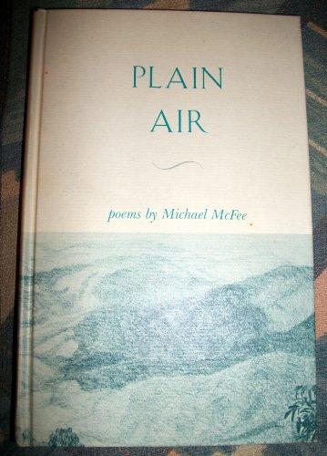 PLAIN AIR.: McFee, Michael.