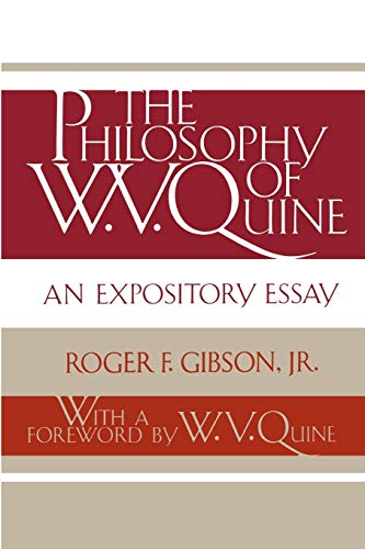 essay expository philosophy quine w.v Quine: an expository essay are grateful to the following publishers who have granted permission to reprint copyrighted material: d it is my hope that students and.