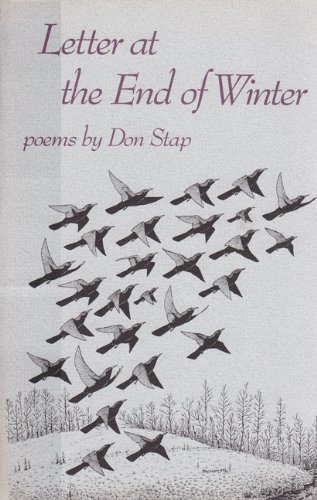 Letter at the End of Winter (Contemporary Poetry Series): Stap, Donald L.