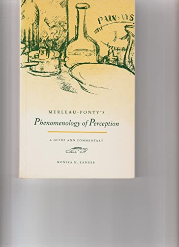 9780813009261: Merleau-Ponty's Phenomenology of Perception: A Guide and Commentary