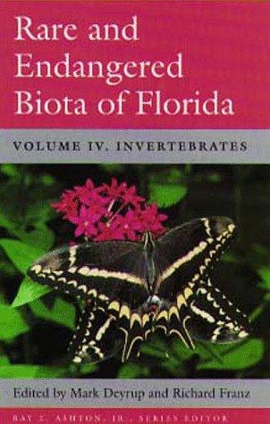 9780813013220: Rare and Endangered Biota of Florida: Vol. IV. Invertebrates