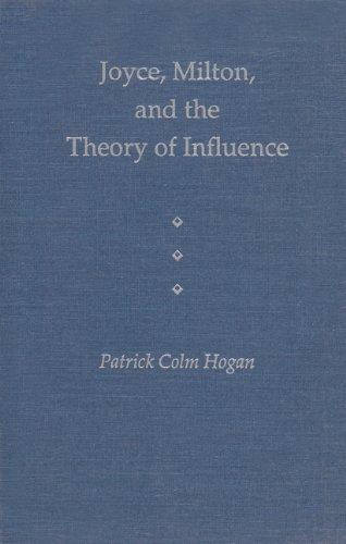 9780813014050: Joyce, Milton, and the Theory of Influence (The Florida James Joyce Series)