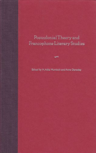 9780813027760: Postcolonial Theory And Francophone Literary Studies