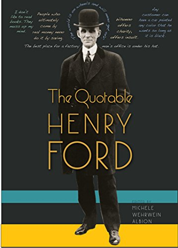 9780813044057: The Quotable Henry Ford