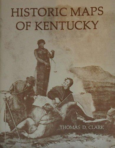 9780813100975: Historic Maps of Kentucky