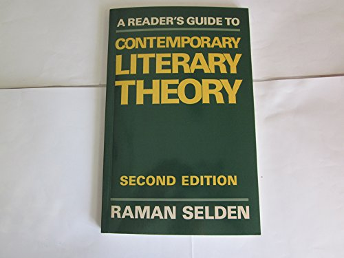 9780813101941: A reader's guide to contemporary literary theory