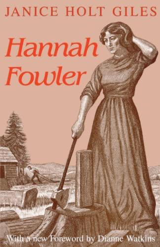 9780813108100: Hannah Fowler