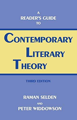 9780813108162: A Reader's Guide to Contemporary Literary Theory