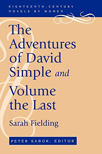 9780813109459: The Adventures of David Simple and Volume the Last