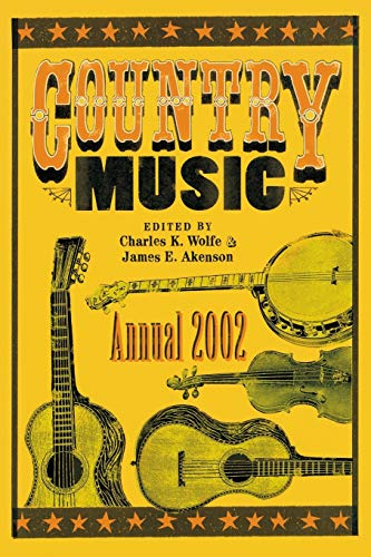 9780813109916: Country Music Annual 2002