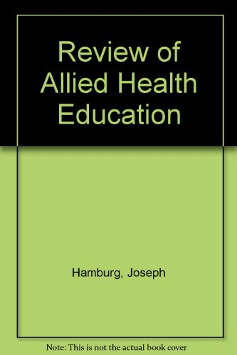 9780813114552: Review of Allied Health Education