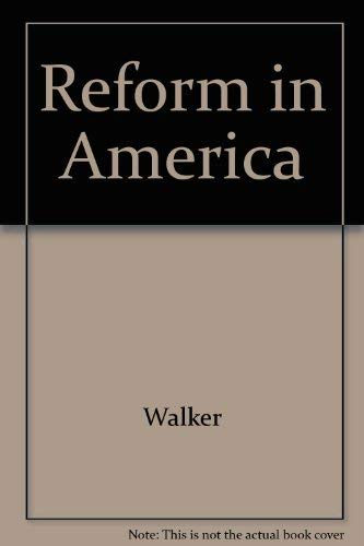 9780813115498: Reform in America: The Continuing Frontier