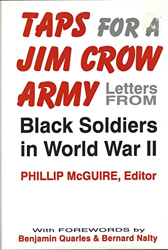 9780813118512 taps for a jim crow army letters from black soldiers