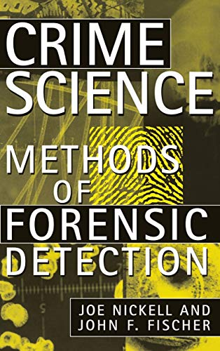 9780813120911: Crime Science: Methods of Forensic Detection