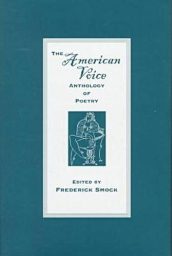 9780813120973: The American Voice Anthology of Poetry