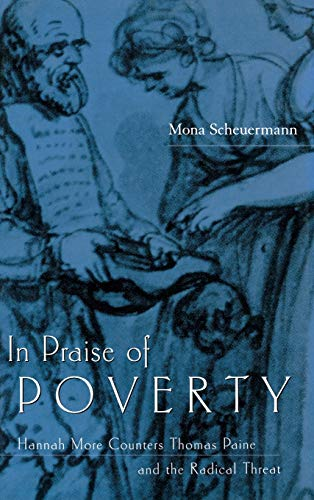 9780813122229: In Praise of Poverty: Hannah More Counters Thomas Paine and the Radical Threat
