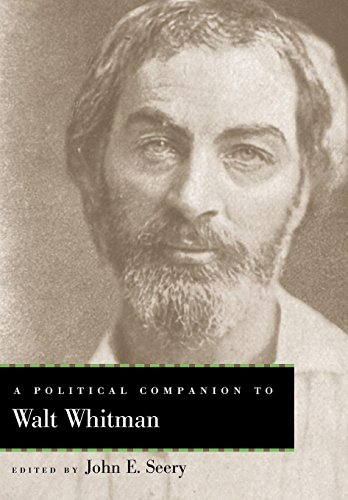 9780813126548: A Political Companion to Walt Whitman (Political Companions Gr Am Au)