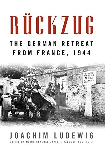 9780813140797: Ruckzug: The German Retreat from France, 1944 (Foreign Military Studies)
