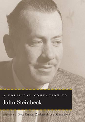 9780813142029: A Political Companion to John Steinbeck (Political Companions Gr Am Au)