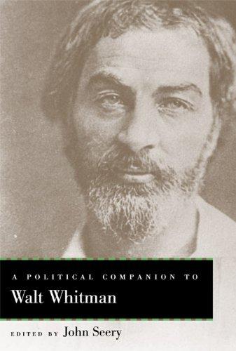 9780813147376: A Political Companion to Walt Whitman (Political Companions Gr Am Au)