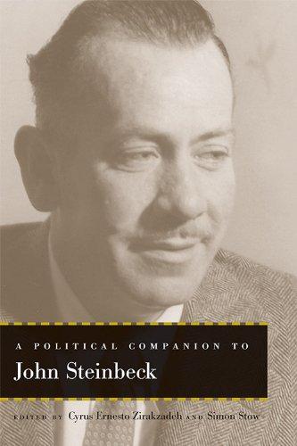 9780813147390: A Political Companion to John Steinbeck (Political Companions Gr Am Au)