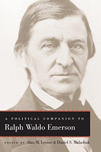 A Political Companion to Ralph Waldo Emerson (Political Companions Gr Am Au): University Press of ...