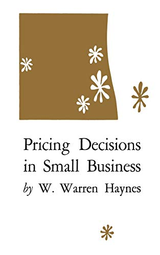 9780813152554: Pricing Decisions in Small Business