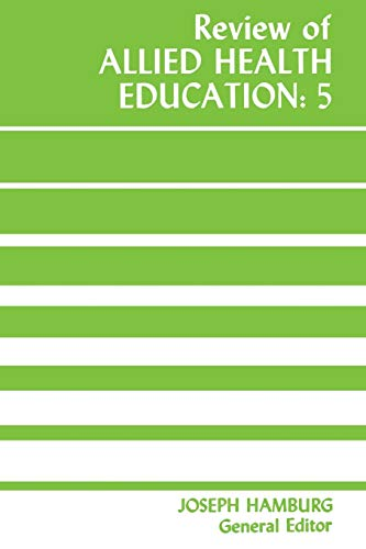 9780813152622: Review of Allied Health Education: 5