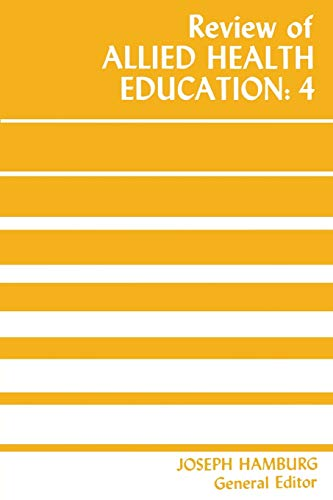 9780813152639: Review of Allied Health Education: 4