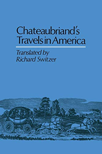 9780813155005: Chateaubriand's Travels in America