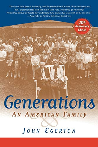 9780813190594: Generations: An American Family