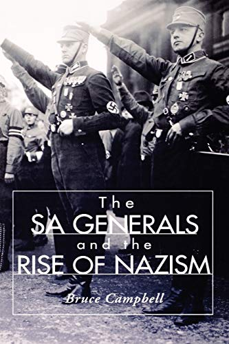 9780813190983: The Sa Generals And The Rise Of Nazism
