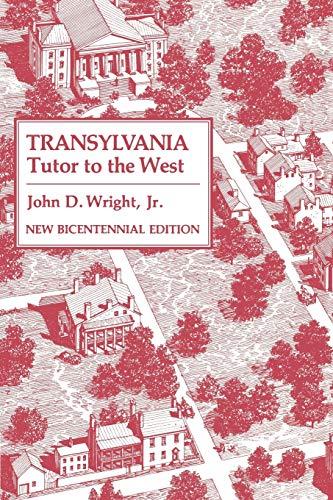 9780813191676: Transylvania: Tutor to the West