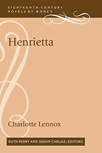9780813191904: Henrietta (18th-Century Novels By Women)