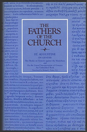 The Fathers of the Church: Saint Augustine : On Genesis: Augustine, Saint, Bishop of Hippo