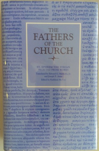 9780813200910: Prose Works: 091 (Fathers of the Church Series)