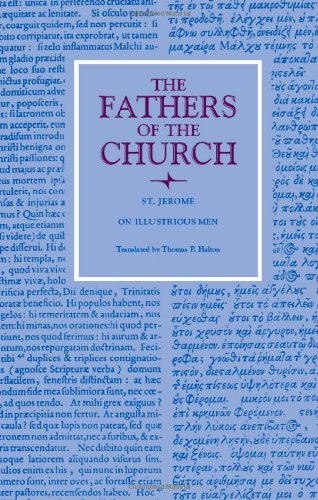 9780813201009: On Illustrious Men (Fathers of the Church Series)