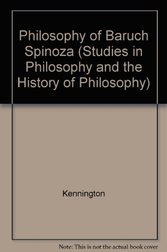 9780813205502: Philosophy of Baruch Spinoza