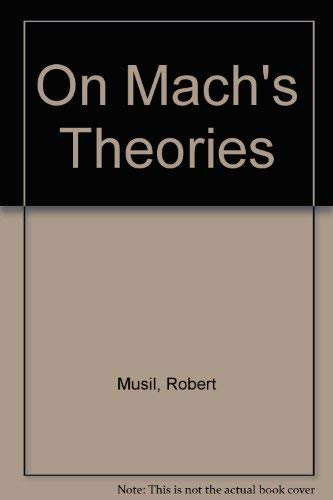9780813205861: On MacH's Theories (Philosophia resources library)