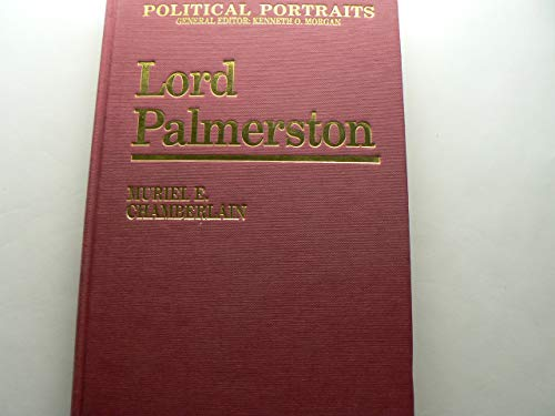 9780813206639: Lord Palmerston (Political Portraits)