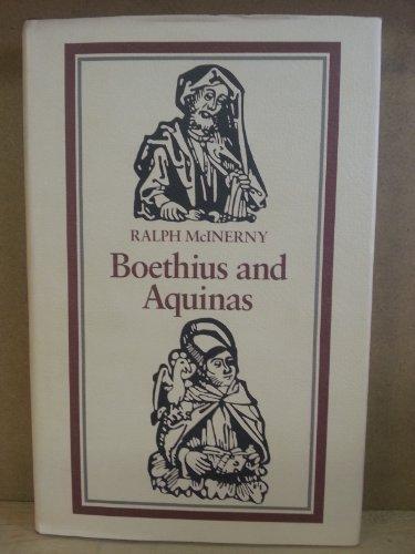 9780813207094: Boethius and Aquinas