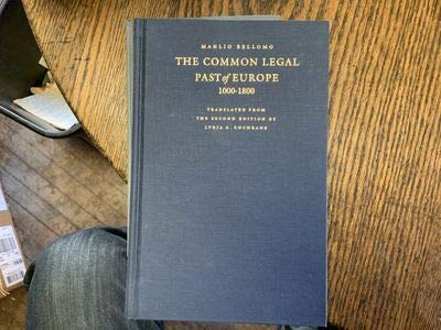 9780813208138: The Common Legal Past of Europe, 1000-1800 (Studies in Mediaeval & Early Modern Canon Law)